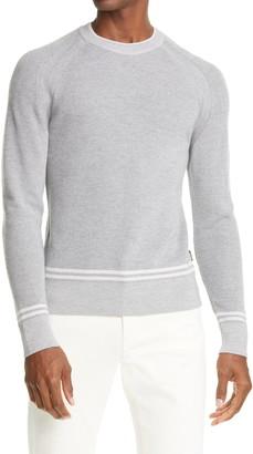 Ermenegildo Zegna Stripe Wool Sweater
