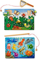 Melissa & Doug Kids' Fishing & Bug Catching Magnetic Game Bundle