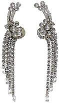 One Kings Lane Vintage Long Dangling Crystal Earrings