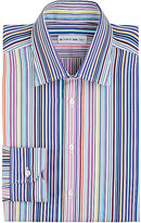 Etro Men's Variegated-Stripe Dress Shirt