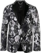 Frankie Morello printed blazer