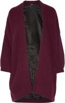 Maje Oversized ribbed-knit cardigan