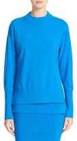 DKNY Women's Extended Sleeve Double Layer Sweater