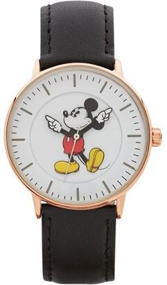 Disney Formal Mickey 36mm Black / Rose Gold