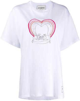 Iceberg Pepe Le Pew print T-shirt