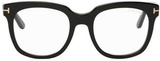 Tom Ford Black Blue Block Large Square Glasses