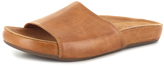 Chocolat Blu Camel Leather Oscar Sandal