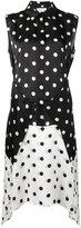 Christian Wijnants polka dot patterned dress