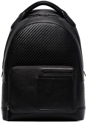 Ermenegildo Zegna Woven Backpack