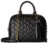 Betsey Johnson Be Mine Dome Satchel