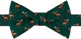 Tommy Hilfiger Men's Moose Print To-Tie Bow Tie