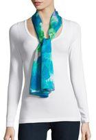 Lauren Ralph Lauren Eloise Printed Silk Scarf