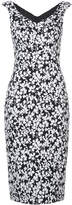 Michael Kors floral print pencil dress