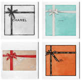 Oliver Gal Couture Gift (Canvas) (Set of 4)