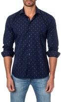 Jared Lang Men's Dot Print Sport Shirt