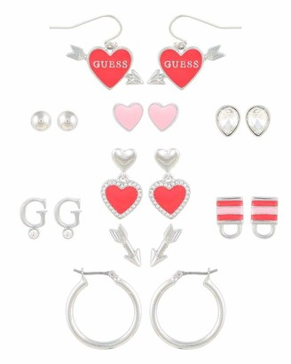 GUESS 9 On Mixed Earring Set