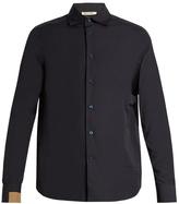 Marni Contrast-cuff Cotton-poplin Shirt
