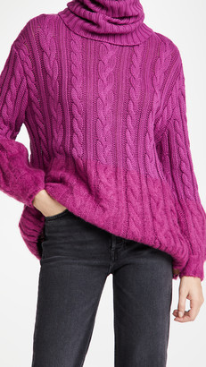 One Teaspoon Buckingham In And Out Cotton Mix Sweater