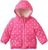 Carter's Baby Girl Hooded Puffer Jacket