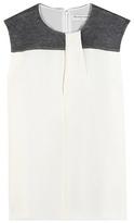 Balenciaga Silk crepe top