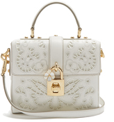 Dolce & Gabbana Dolce Soft embroidered leather cross-body bag