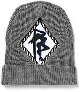 Alexander Wang Rib Beanie With Argyle Girl