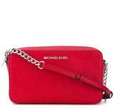 MICHAEL Michael Kors logo plaque crossbody bag - women - Leather - One Size