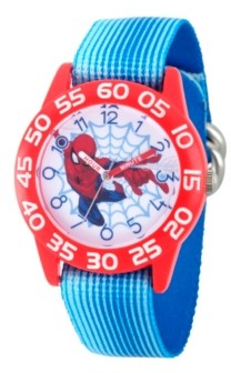 EWatchFactory Marvel Spider-Man Boys' Red Plastic Time Teacher Watch