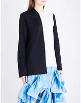 Marques Almeida Asymmetric cotton-jersey top