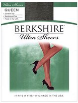 Berkshire Women's Plus-Size Queen Ultra Sheer Control Top Pantyhose with Toe