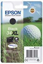 Epson Golfball T3461 XL Inkjet Printer Cartridge, Black