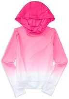 Ralph Lauren Girls' Funnel Neck Ombré Hoodie - Sizes S-XL