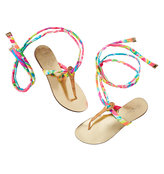 Lilly Pulitzer Harbor Wrap Sandal