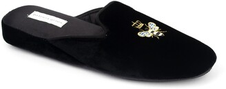 Patricia Green 'Queen Bee' Embroidered Slipper