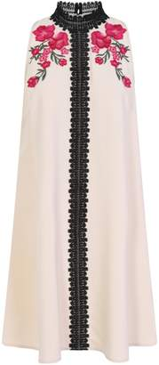 Dorothy Perkins Womens **Little Mistress Black And White Embellished Trapeze Dress, Black And White