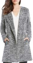 Karen Kane Chevron Tweed Jacket
