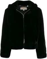 MICHAEL Michael Kors hooded zip-up jacket