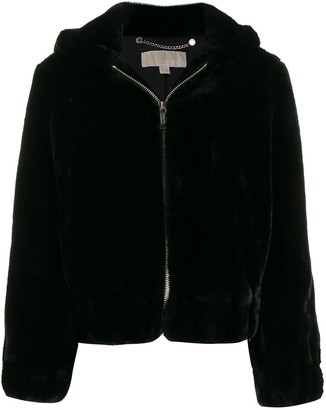 MICHAEL Michael Kors hooded zip-up jacket