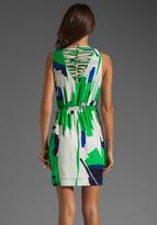 Akiko Wrap Front Tank Dress