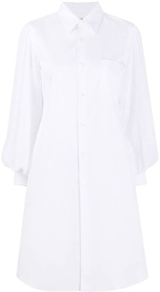 Comme des Garcons Pointed Collar Shirt Dress