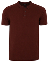 George Textured Knit Polo Shirt