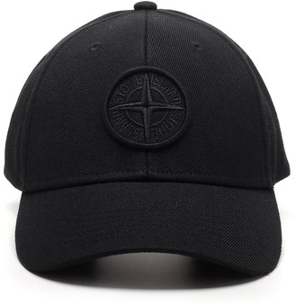 Stone Island Logo Embroidered Cap