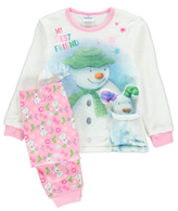 George The Snowman and The Snowdog Fleece Pyjamas with Teddy