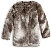 GUESS Sara Faux-Fur Jacket (7-16)