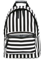 Ami Alexandre Mattiussi Zipped Backpack - men - Leather/Polyester - One Size