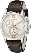 Hamilton Men's H32612555 Jazzmaster Chronograph Dial Watch