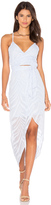 Lumier Change of Thought Wrap Dress