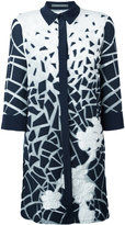 Alberta Ferretti printed longline shirt - women - Silk/Cotton/Polyamide/other fibers - 46