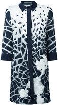 Alberta Ferretti printed longline shirt