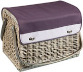 Asstd National Brand Picnic Time Aviano Collection Kabrio Wine Basket - Service for 2